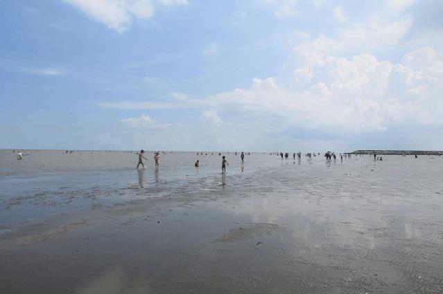 Biển ở Cần Giờ (Ảnh ST)