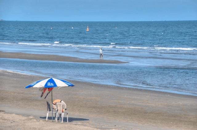 bãi tắm chí linh là một trong các bãi biển mới ở vũng tàu