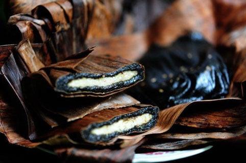 Bánh gai Tứ Trụ - Món ăn ngon Thanh Hóa