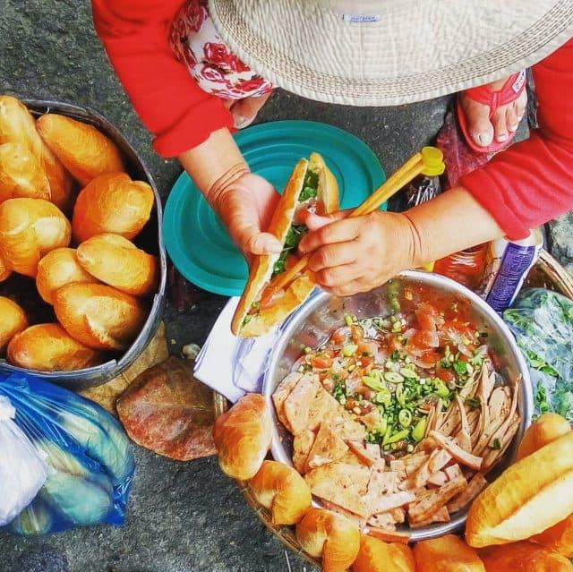 Bánh mì bột lộc Đà Nẵng