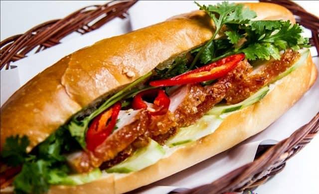 Bánh mì thịt heo quay Đà Nẵng