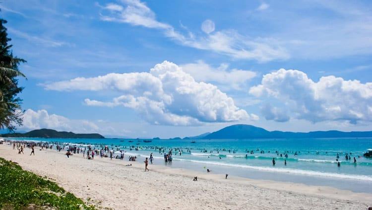Biển Hải Thanh - một trong năm bãi biển Thanh Hóa