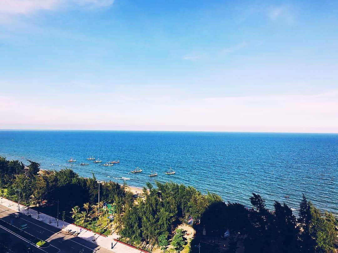 Biển Hải Tiến - một trong năm bãi biển Thanh Hóa
