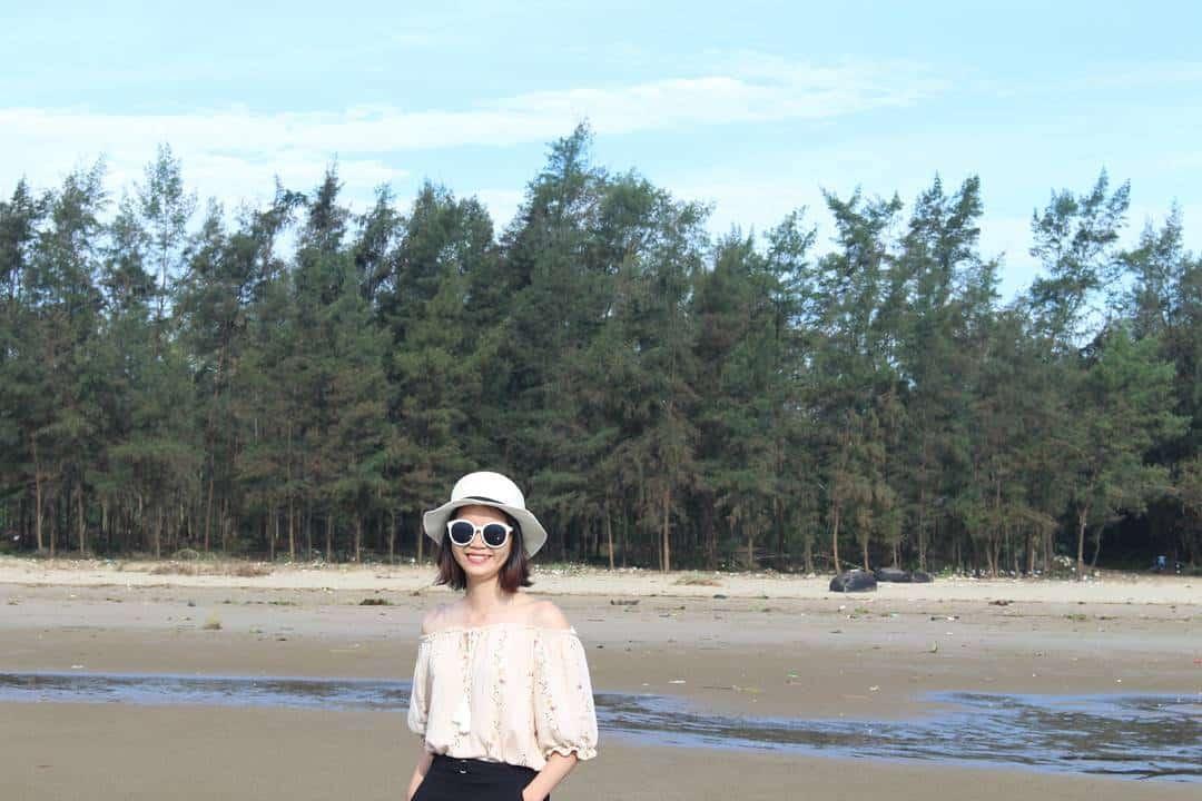 Biển Hải Hòa - một trong năm bãi biển Đà Nẵng 01