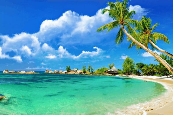 biển tân thành là một trong những bãi biển gần sài gòn