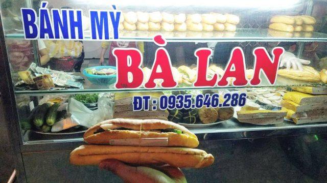 Bánh mì bà Lan Đà Nẵng