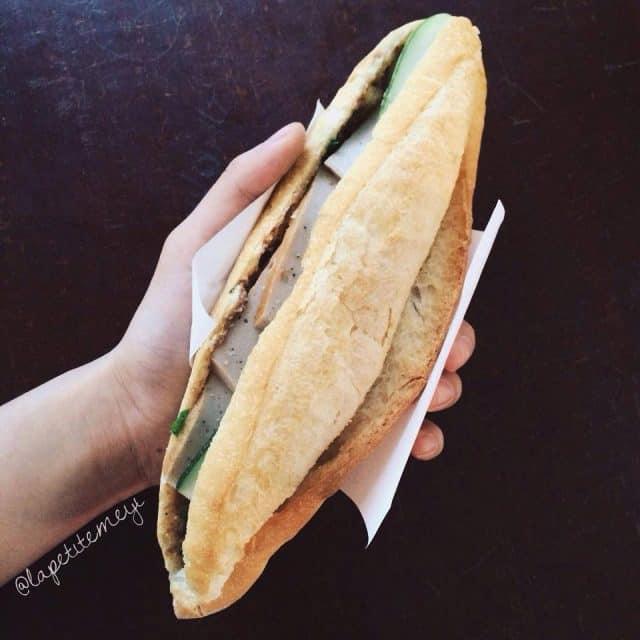 Bánh mì chả ông Tý Đà Nẵng
