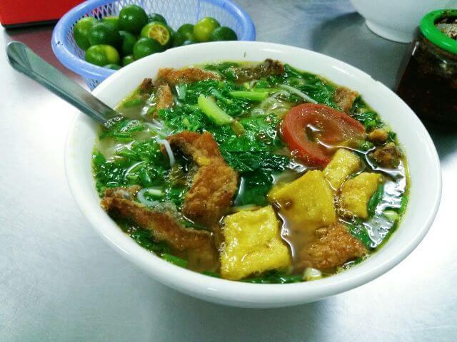Bún cá Thúy béo Hồ Tùng Mậu