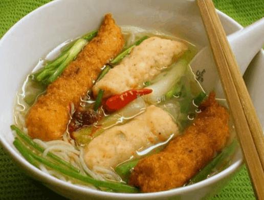 Món bún suông(Ảnh ST)