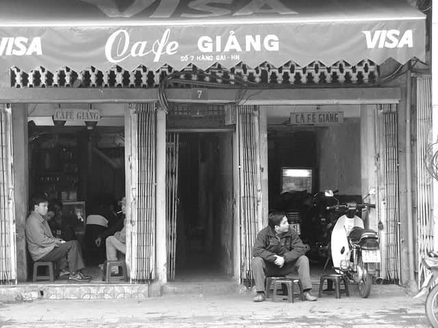 Cafe Giảng xưa