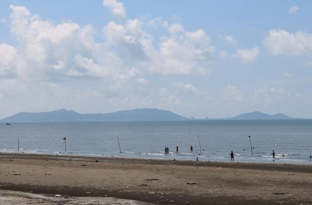 Bãi biển 30 - 4 ở Cần Giờ (Ảnh ST)