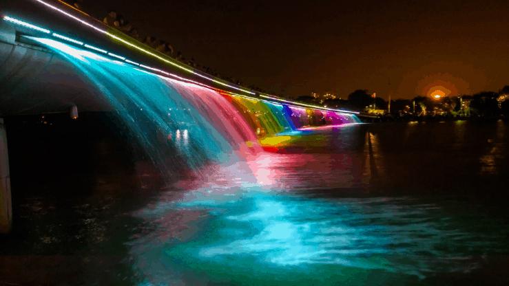 Vẻ đẹp của cầu Ánh Sao (Ảnh ST)