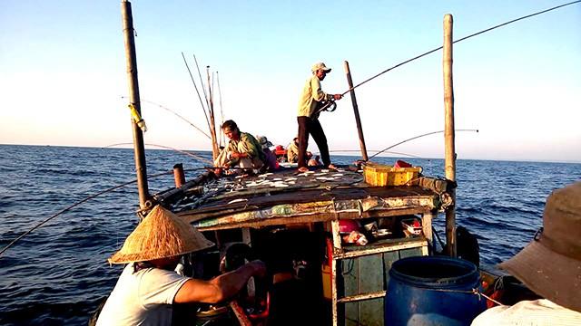 Làng chài ven biển Cửa Tùng ở Quảng Trị 02
