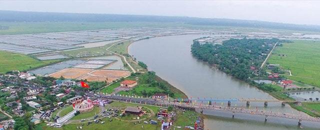 Di tích cầu Hiền Lương - sông Bến Hải hiện tại
