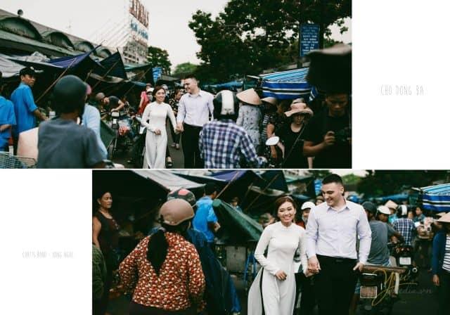 Chợ Đông Ba - địa điểm chụp ảnh cưới đẹp tại Huế 02