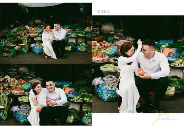 Chợ Đông Ba - địa điểm chụp ảnh cưới đẹp tại Huế 01