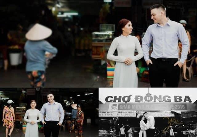 Chợ Đông Ba - địa điểm chụp ảnh cưới đẹp tại Huế