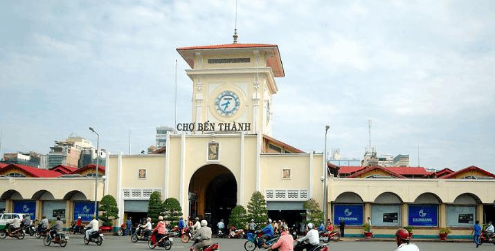 Chợ Bến Thành (Ảnh ST)