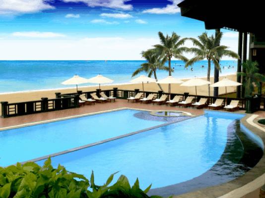 Có rất nhiều resort ở Vũng Tàu có view và cảnh đẹp