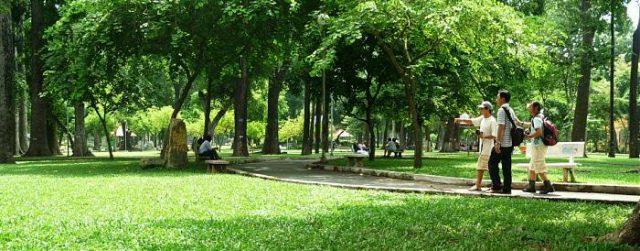 Địa điểm vui chơi ở Hà Nội - Công viên