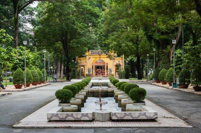 Hình ảnh công viên Tao Đàn