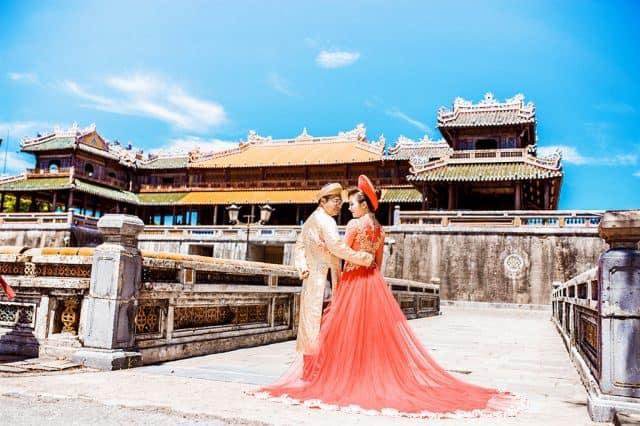 Địa điểm chụp ảnh cưới tại Huế
