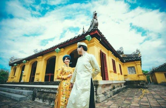 Đại nội Huế - địa điểm chụp ảnh cưới ở Huế