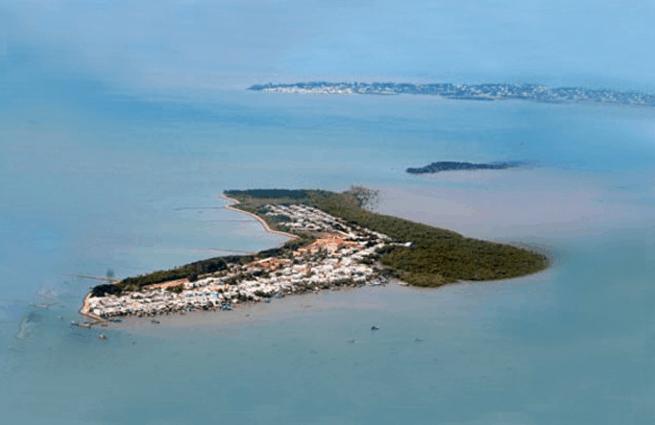 Đảo Thạnh An (Ảnh ST)