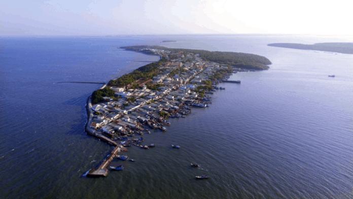 Xã đảo Thạnh An (Ảnh ST)