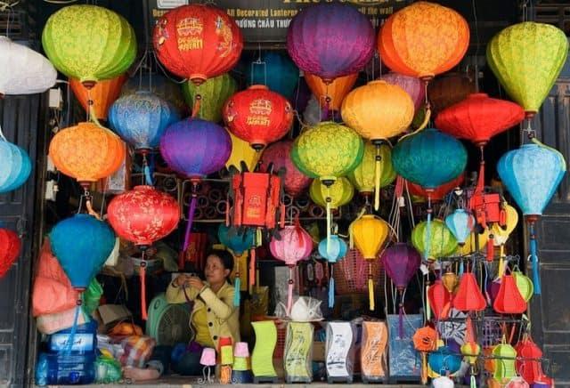 phố đèn lồng truyền thống hội an