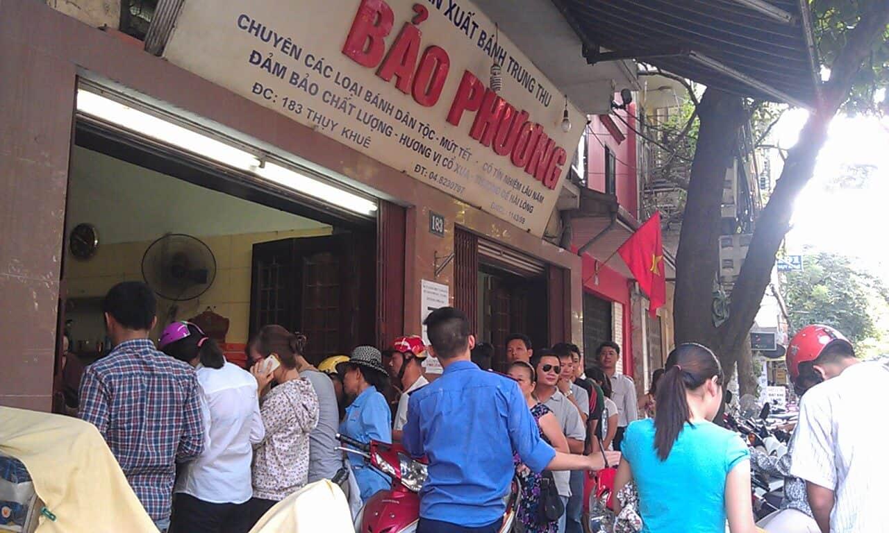 Cửa hàng bánh Bảo Phương số 183 Thụy Khuê