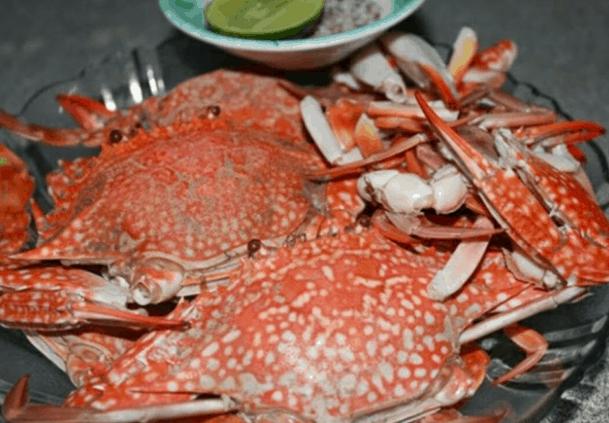 Đồ hải sản ở trên xã đảo Thạnh An (Ảnh ST)