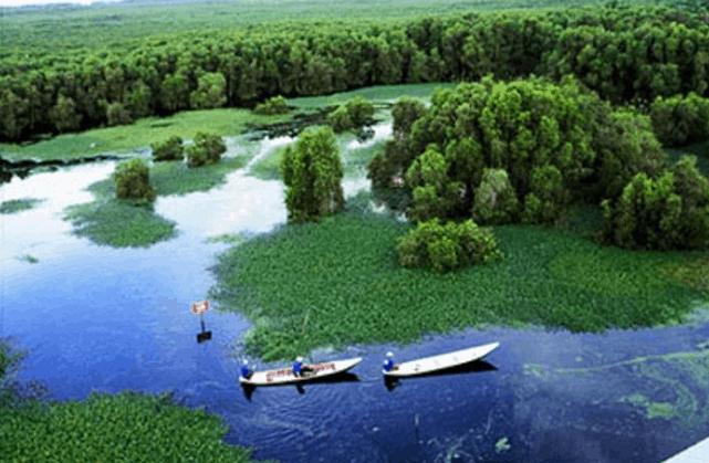 Khu du lịch sinh thái Gáo Giồng (Ảnh ST)