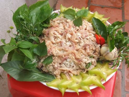 Gỏi cá Nhệch - Món ăn đặc sản Thanh Hóa