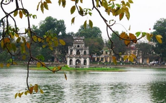 Hà Nội trên bản đồ các tỉnh thành Việt Nam