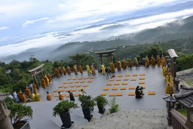 Hoạt động tốn giáo ở chùa Linh Quy Pháp Ấn