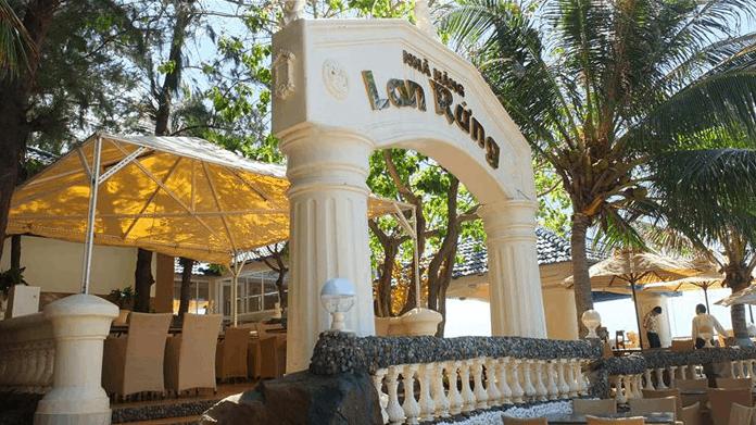 Hình ảnh nhà hàng Lan Rừng trong khu resort