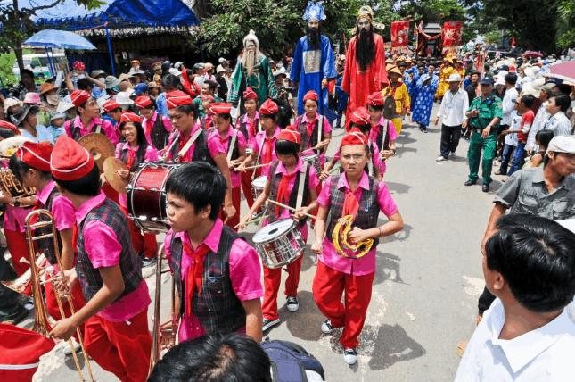 Lễ hội đặc sắc ở Cần Giờ (Ảnh sT)
