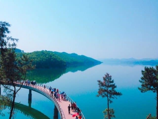 Hồ Kẻ Gỗ Hà Tĩnh 03