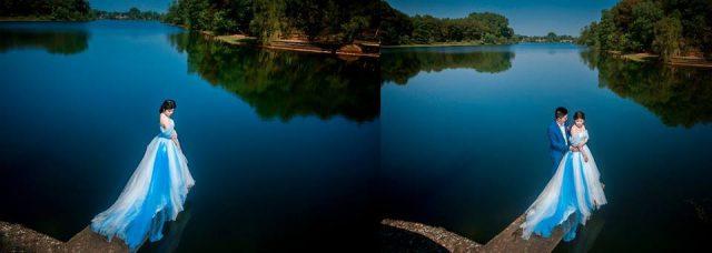 Hồ Thủy Tiên - địa điểm chụp ảnh cưới tại Huế