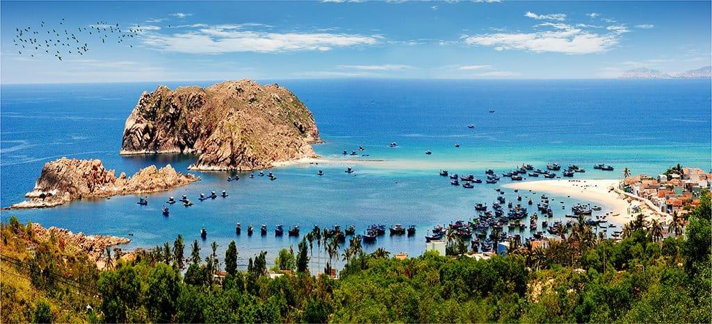 Hòn Khô vốn là một hòn đảo nhỏ xinh đẹp (Ảnh sưu tầm)