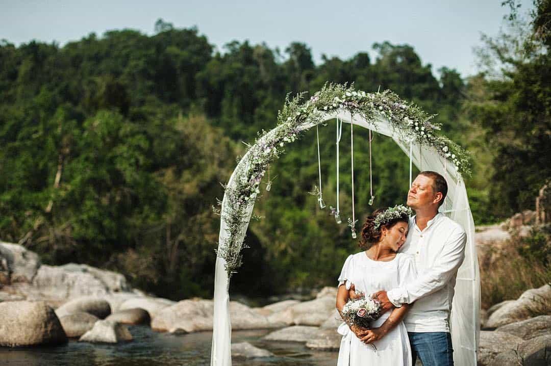 Khung cảnh đảo Hòn Mun quá lý tưởng để tổ chức đám cưới