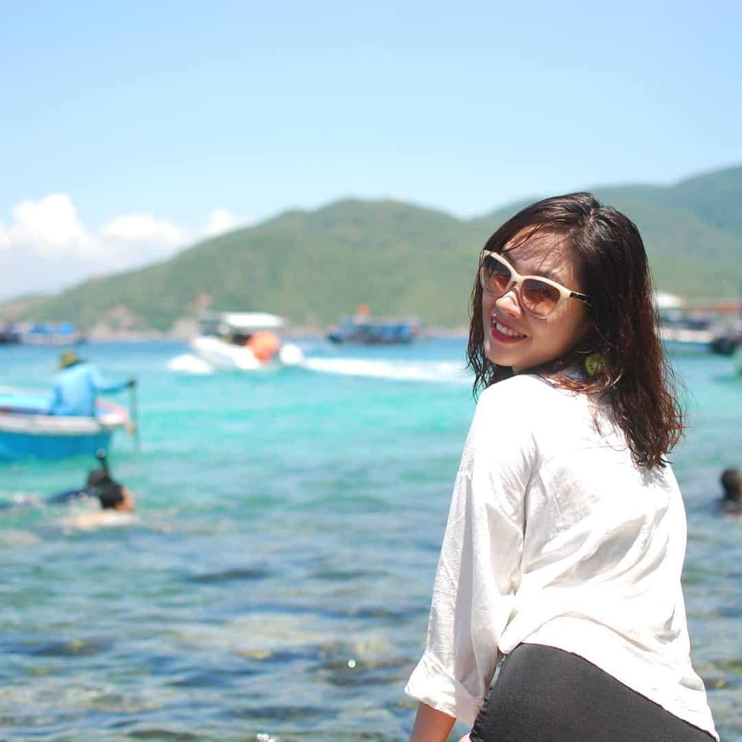 Ở đảo Hòn Mun chụp đâu bạn cũng có ảnh đẹp