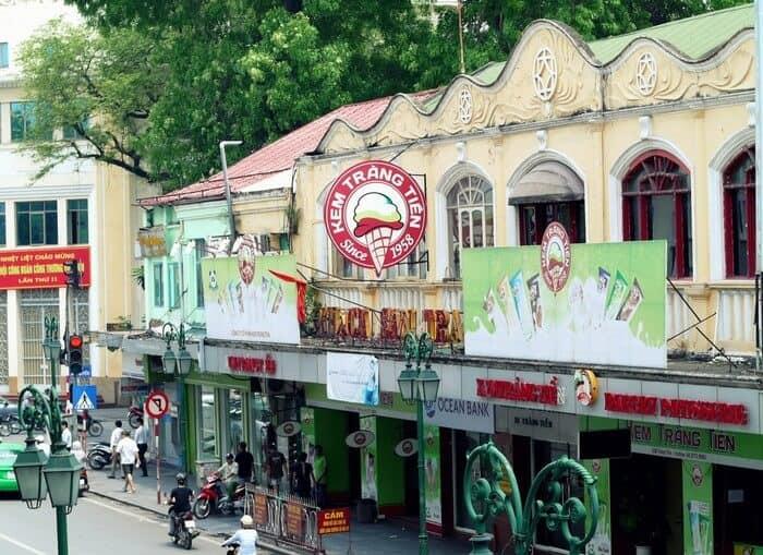 Kem Tràng Tiền - thương hiệu kem ngon nổi tiếng nhất ở Hà Nội