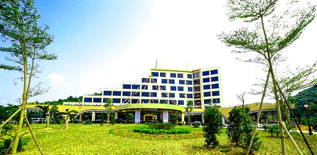 Khách sạn tiêu chuẩn 5 sao - Khu du lịch sinh thái Diễn Lâm