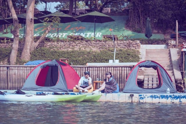 Khu cắm trại tại trung tâm thể thao dưới nước Chày Lập Farmstay