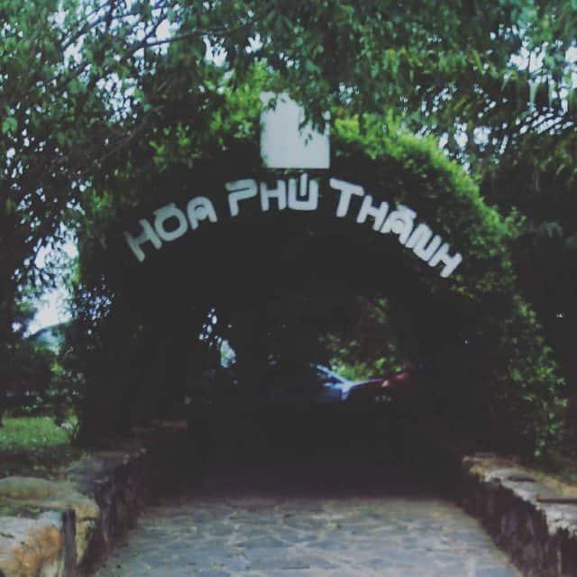 Khu du lịch Hòa Phú Thành 01