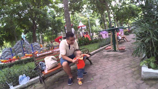 Khu vui chơi cho trẻ em trong công viên Tao Đàn