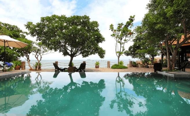 Khung cảnh yên tĩnh, đẹp tại Bình An Village Resort Vũng Tàu