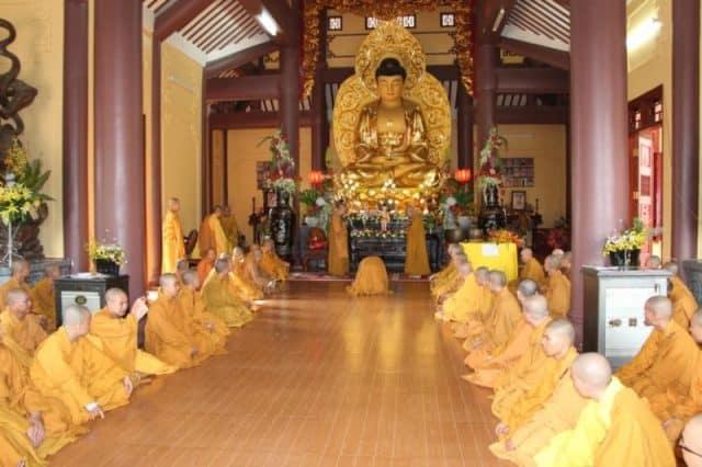 Kiến trúc bên trong chùa